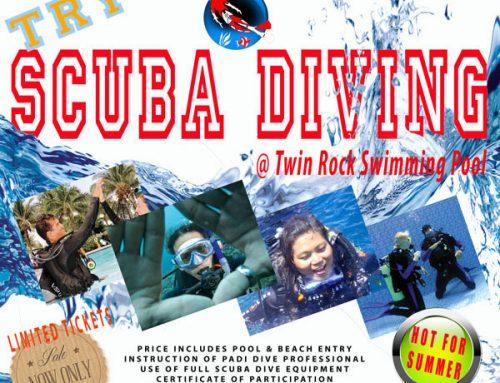TRY SCUBA DIVING – APRIL 21st 2019